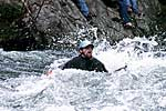 , Cowbell Rapid, Nolichucky River, TN.  Click for larger image.