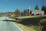 The Church at the Turn Onto Big Hungry Road, Green